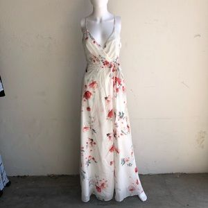 Jetset Diaries Isabella Floral Maxi Dress White